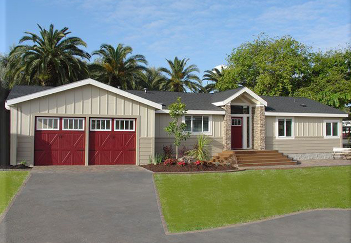 A Double Wide Mobile Home Look Like House Homes Ideas
