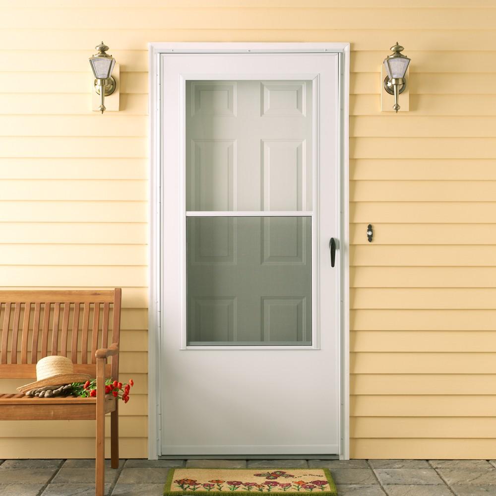 Example Mobile Home Storm Door