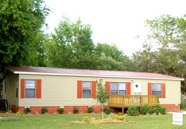 Mobile Home Skirting Red Brick Ideas Mobile Homes Ideas
