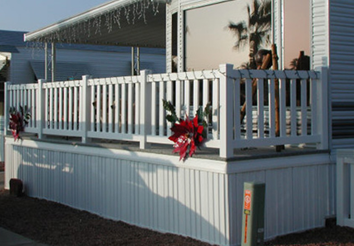 Mobile Home Skirting Vinyl Ideas