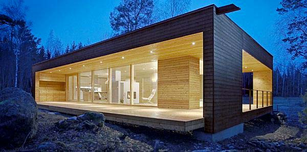 Modern Fold-out Mobile Home Design