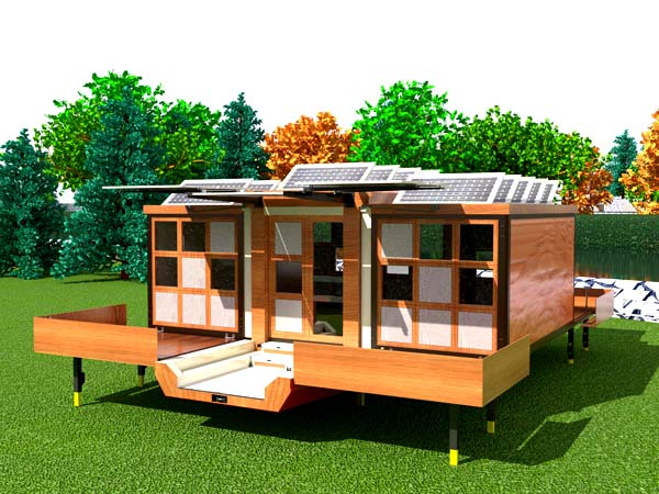 Small Energy Efficient Mobile Homes
