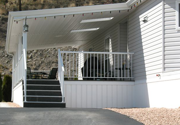 4 Types Of Mobile Home Skirting