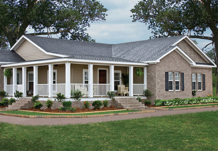 Triple Wide Mobile Homes with Brick | Mobile Homes Ideas