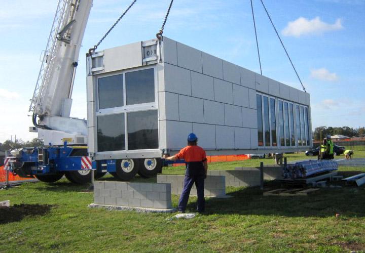 Cargo Container Home Construction
