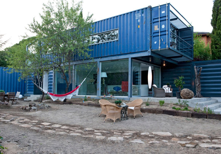 Cargo Container Home Texas