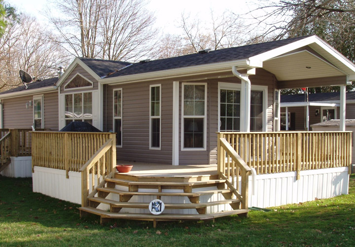 Deck Pictures for Mobile Homes