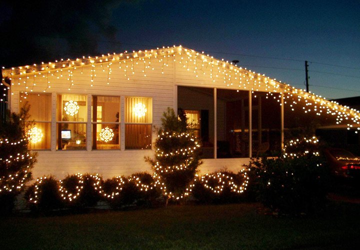 Decorating Mobile Home For Christmas