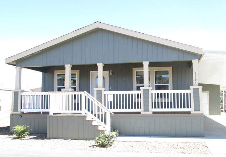 Double Wide Mobile Home Porches