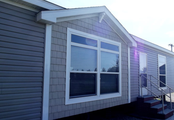Double Wide Mobile Home Siding