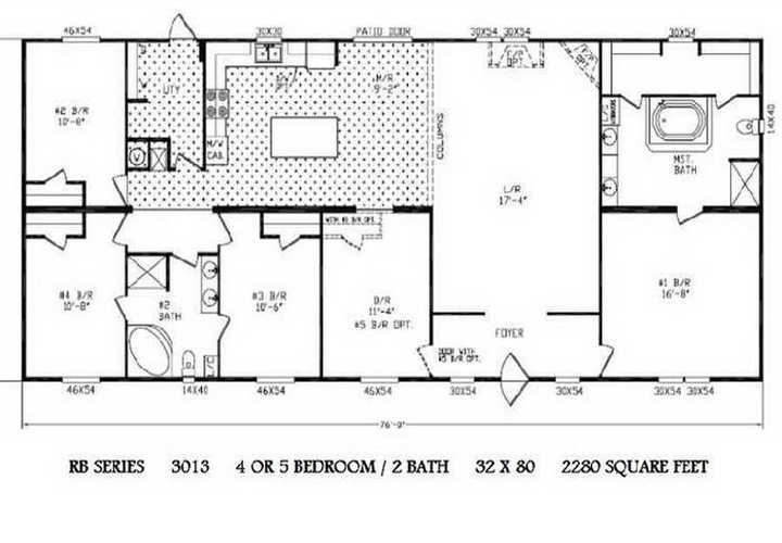 Double Wide Trailers Floor Plans Pics