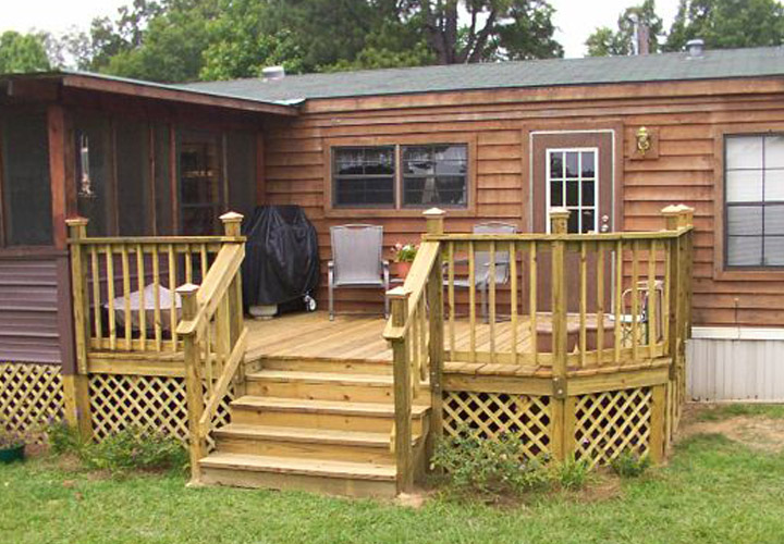 Mobile Home Back Porch Designs