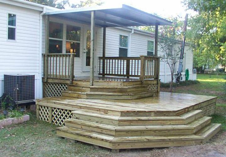 Mobile Home Back Porch Ideas Mobile Homes Ideas