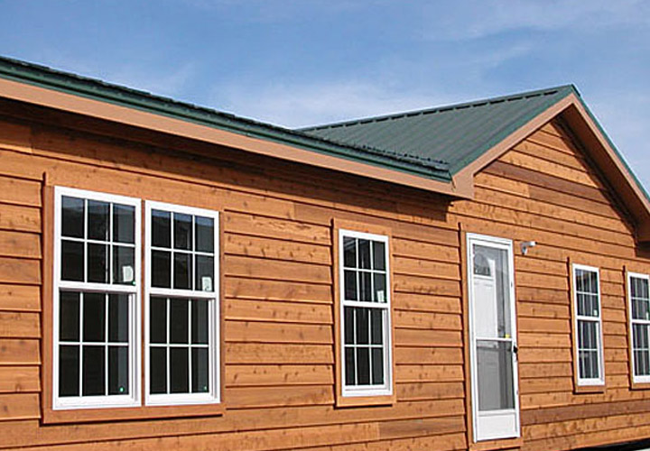 Mobile Home Cedar Siding