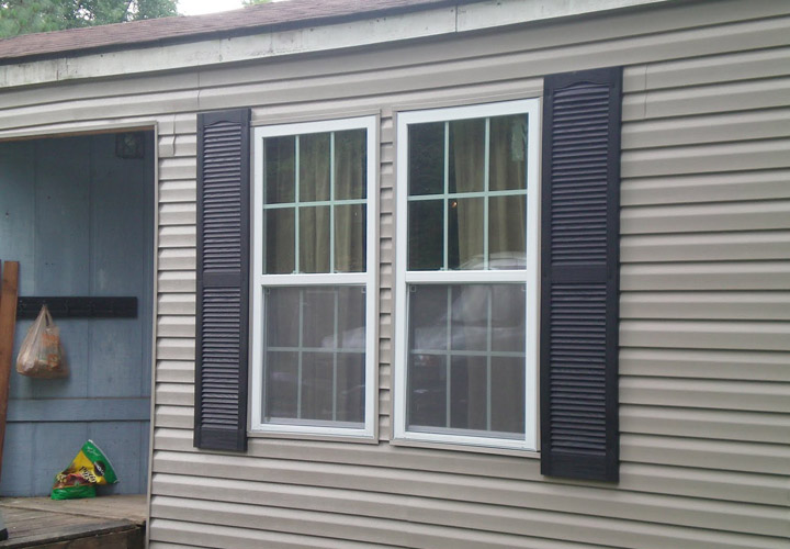 Mobile Home Exterior Metal Siding