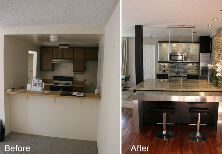 Mobile Home Kitchen Remodel Before And