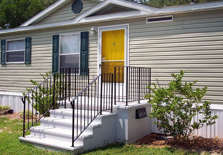 Mobile Home Porch Storm Shelters