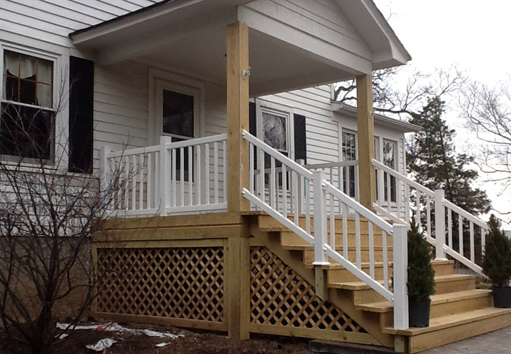 Mobile Home Porches Stairs
