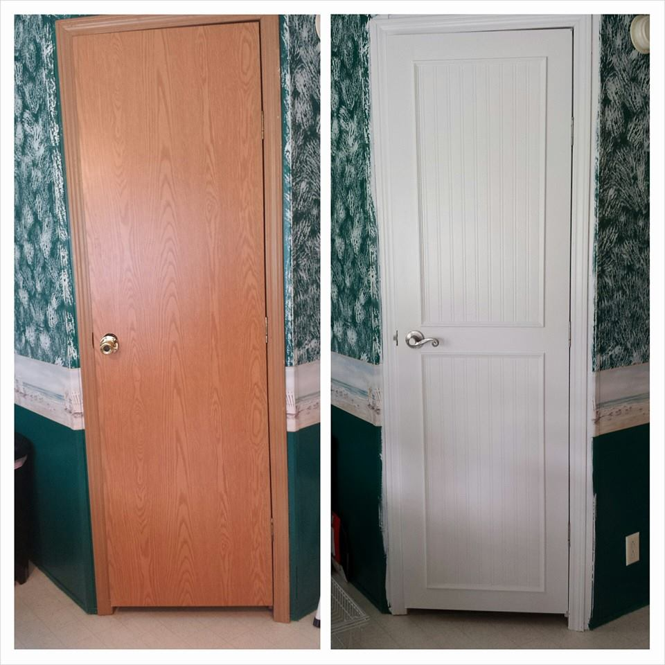 Mobile Home Replacement Doors Exterior: Mobile Home Repair Door Before And After