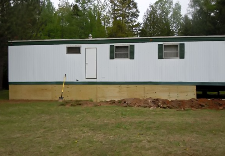 Mobile-Home-Skirting-Ideas-Pictures-Gallery Attached A Mobile Home Skirting on a mobile home kitchen, a mobile home siding, a mobile home floor,