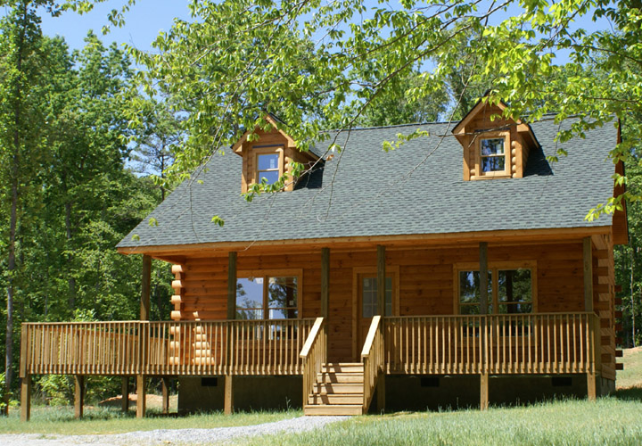 Mobile Homes Log Cabin Style