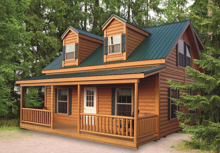 New Log Cabin Mobile Home Mobile Homes Ideas