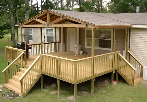 Photos of Modular Home Deck Plans