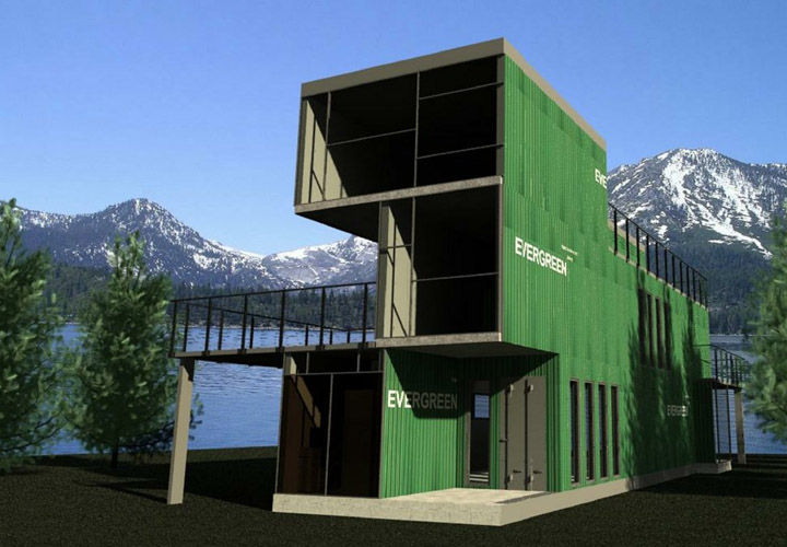Shipping Container Homes Photos
