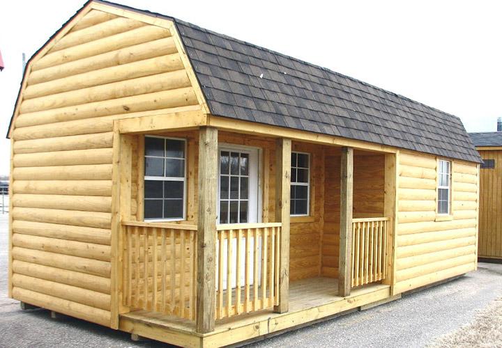Single Wide Log Cabin Mobile Homes