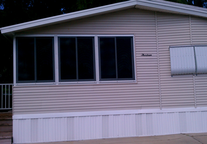 Skirting for Mobile Homes in Alexandria Louisiana