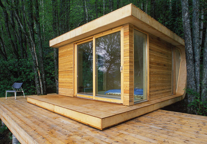 Small Green Manufactured Homes