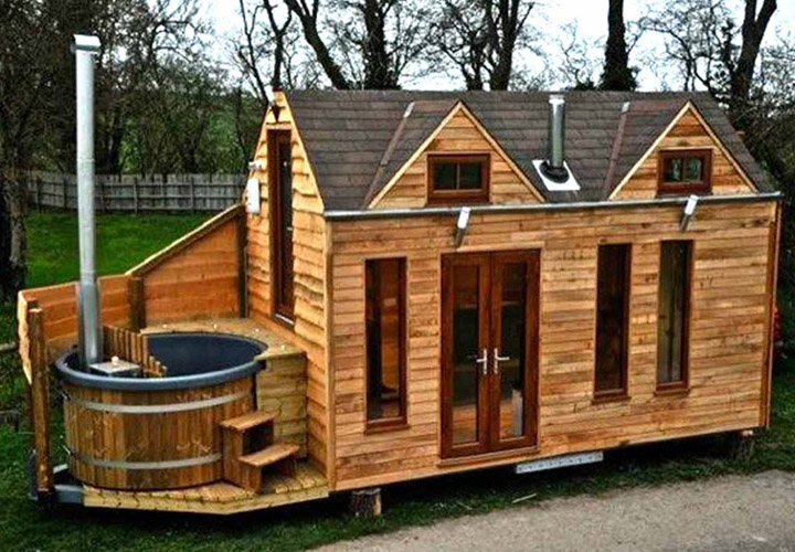 Small Log Cabin Mobile Home | Mobile Homes Ideas