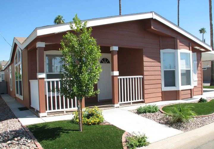 Exterior Design Ideas for Mobile Homes