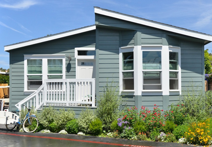 Exterior Mobile Home Colors Photos
