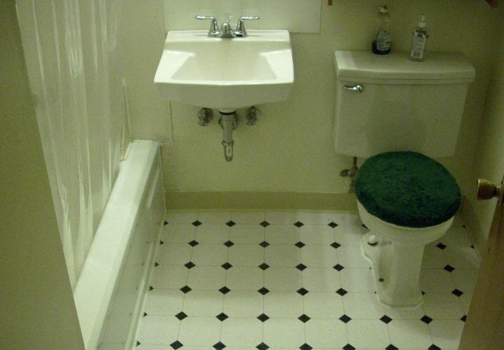 Mobile Home Bathroom Floor Repair