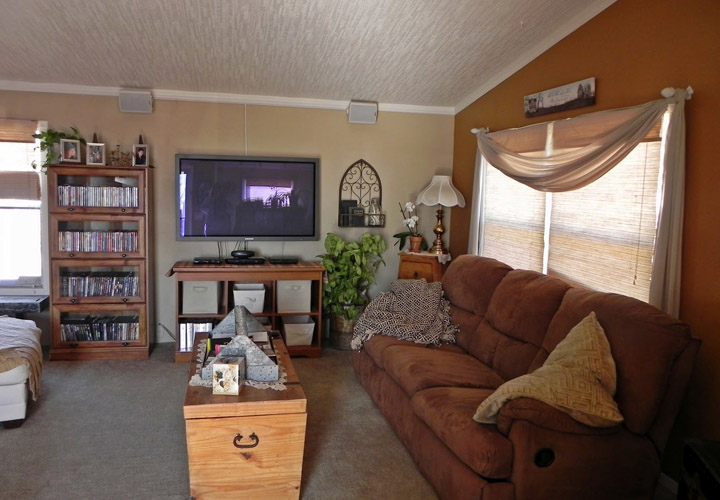Tips Decorating Living Room for Small Mobile Home   Mobile ...