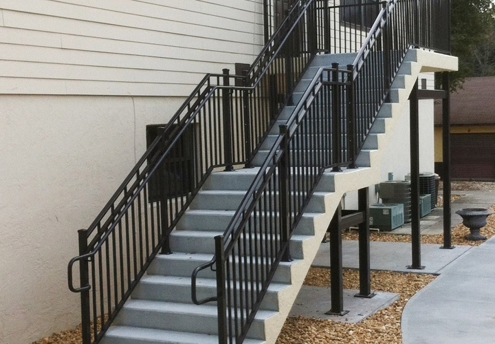 Painting Exterior Metal Stairs Mobile Homes