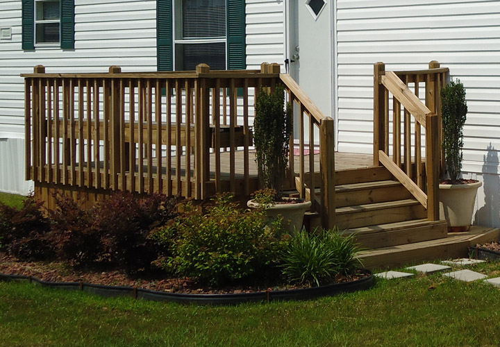 Exterior Stairs For Mobile Homes, Mobile Home Outdoor Steps