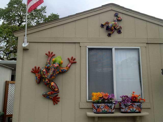 Exterior Mobile Home Decorating Ideas